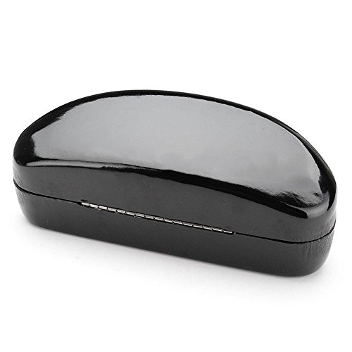 AMAZZANG-New Portable Eye Glasses Sunglasses Clam Shell Hard Case Boxes Protector Holder (LIGHT - Review Sunglasses Warehouse