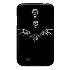 Top Quality Case Cover For Galaxy S4 Case With Nice Tripal Skull Appearance