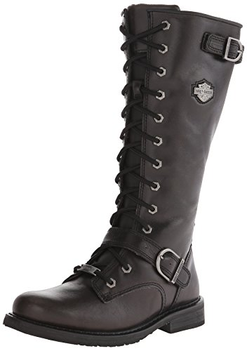Harley Davidson Women's Jill Boot - Black - 7 B(M) US