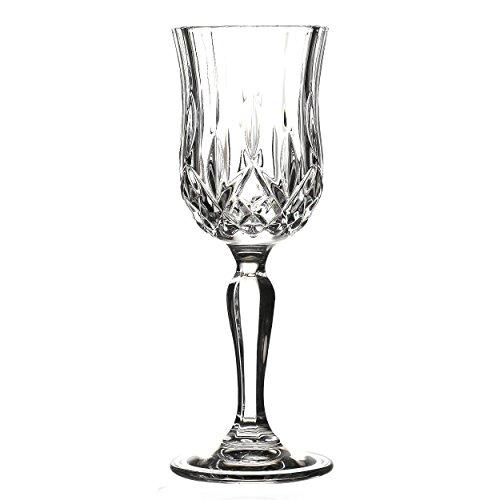crystal cordial glasses - 7