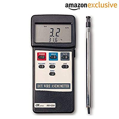 Lutron AM-4204 Electronic Hot Wire Anemometer Along with Calibration Certificate