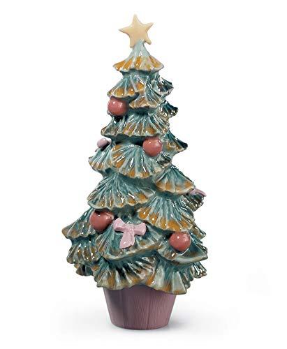 - Lladro Porcelain Figurine Christmas Tree