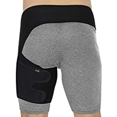 Groin Wrap by Vive   Providing optimal support and relief for groin strains, pulled hamstrings and quad injuries, the Vive Groin Wrap stabilizes the upper thigh and improves mobility, while promoting healing with compression therapy and increased ...