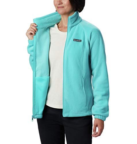 Columbia Women's Benton Springs Fleece Jacket, Geyser - Legacy, X-Small