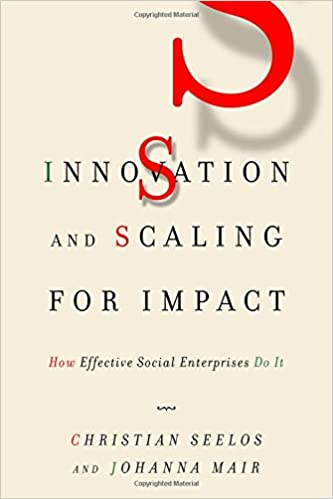 Amazon com: Innovation and Scaling for Impact: How Effective