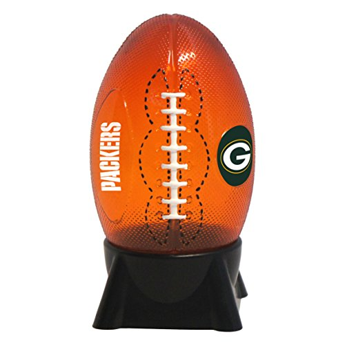 NFL Green Bay Packers Football Shaped Night Light