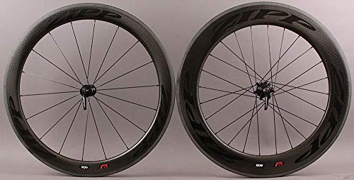 Zipp 808 Wheel Front (Zipp 2018 404 Front 808 Rear Firecrest Carbon Clincher SRAM 11s Black Wheelset)