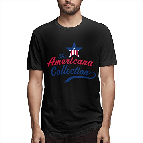 Canny Of The Root Americana Collection Men's Printing Shirt Black M Americana Book,Vanity Collections Gentle ()