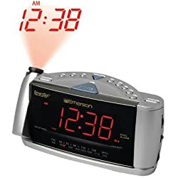 Emerson CKS3516 SmartSet Dual-Alarm Clock Radio with Time Projection System (Discontinued by Manufacturer)