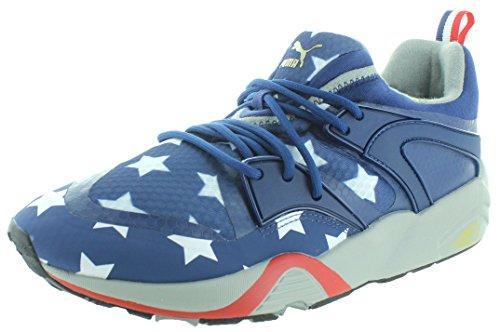 Puma Blaze Of Glory Heren American Flag Sneakers Schoenen Rood-wit-blauw