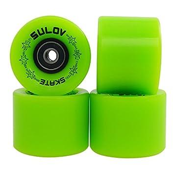 SULOV Penny Tarjeta Ruedas, Unisex, Penny Board Räder, Verde, 60x45mm: Amazon.es: Deportes y aire libre