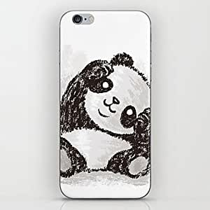 PEACH Red Panda Head Tilt Pattern hard Case for iPhone 6