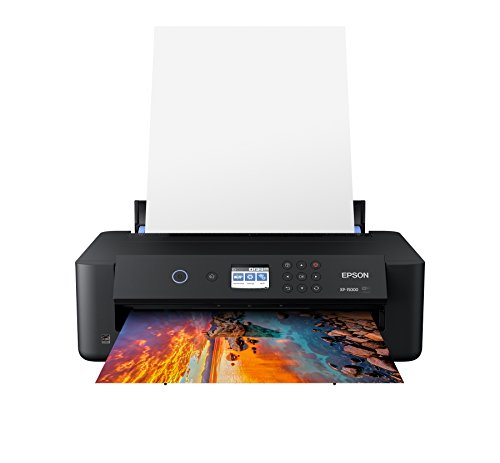 Epson Expression Photo HD XP-15000 Wireless Color Wide-Format Printer, Amazon Dash Replenishment Enabled (Renewed),Black