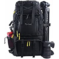 G-raphy Camera Backpack Bag Camera Case for all DSLR SLR Cameras (Black)