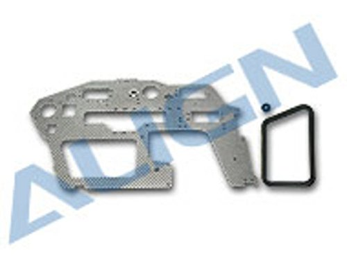 Align/T-Rex Helicopters Fiberglass Main Frame, Right, 2mm