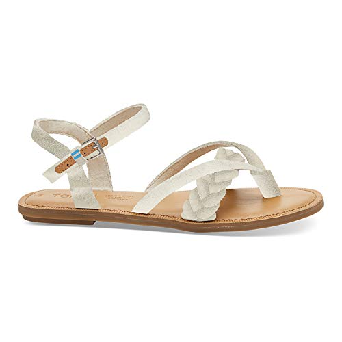 TOMS Women's Lexie Natural Shimmer Canvas 11 B ()