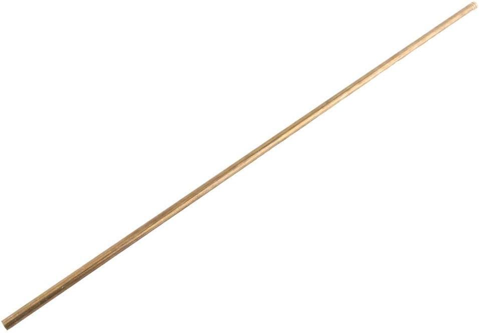 Yosooo Quality Brass Tube Pipe Tubing Round Outer Diameter 0.6-2cm Length 50cm Model Making 1.6cm