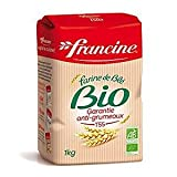 Francine Farine de Ble Bio - French All Purpose Organic Wheat Flour - 2.2 lbs (Pack of 2)