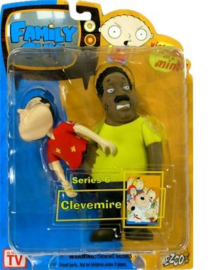 Family Guy Figures Series (Family Guy Mezco Series 6 Action Figure Clevemire (Quagland))