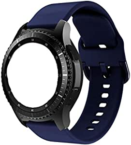 Silicone strap, size 22 mm, suitable for hours Samsung Galaxy Watch 46mm Gear S3 Frontier S3 Classic Huawei GT2 46mm Huawei GT1 46mm Honor Magic 2, 46 ml