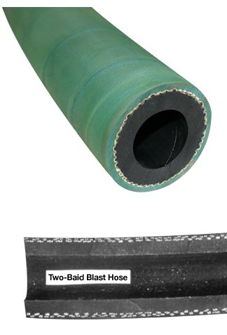 Clemco 23752 Sand Blast Hose, 2 braid, 3/4'' ID x 25 ft by CLEMCO
