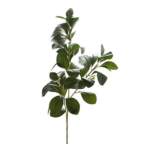 YLCOYO Flowers, Artificial Plant Fake Leaves Foliage Grass Bush Wedding Party Home Garden Decor ()