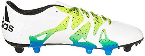 Chaussures De Football Adidas X15.3 Fg / Ag Pour Homme Blanc