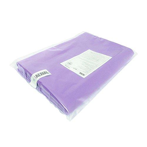 Firetoys Professional Aerial Silks Fabric/Tissues, Medium Stretch Silk WLL 282lbs (128kg) (Lavender, 32' (10m)) by Firetoys (Image #4)
