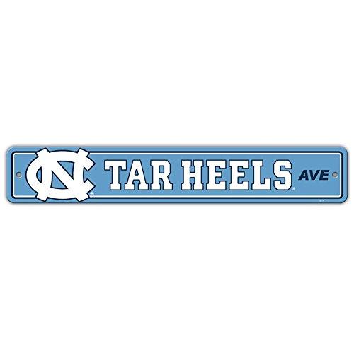 North Carolina Street Sign - Fremont Die North Carolina Tar Heels Plastic Street Sign