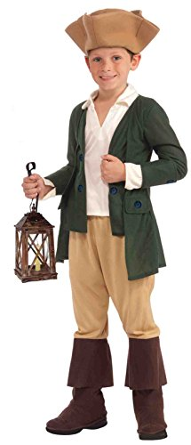 Forum Novelties Paul Revere Costume, Child -