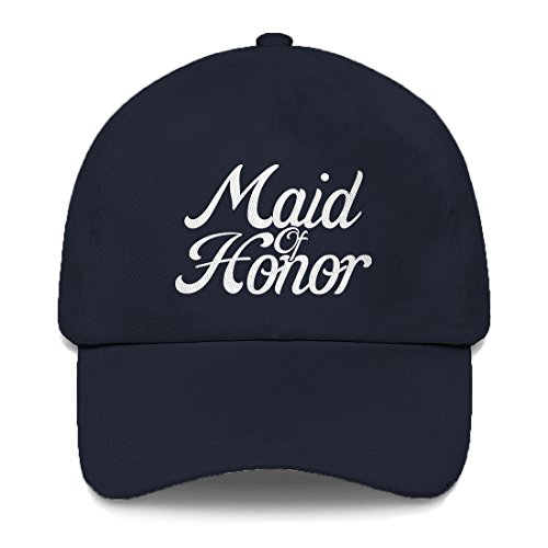 Tcombo Maid of Honor Dad Hat (Navy Blue) by Tcombo