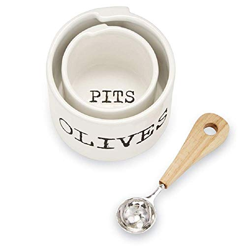 Mud Pie Olives and Pits Bowl Set of 3