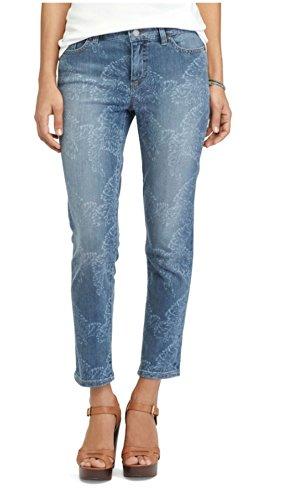 Chaps Women's Petite Crop Skinny Jeans, Banana Leaf Wash (Chaps Jeans For Women)