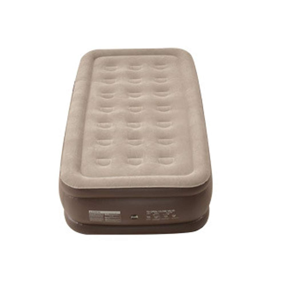 Inflatable Bed Air Bed Thicken Height Inflatable Bed Portable Outdoor Air Mattress External Air Pump, (D) 40CM, Flocking Air Bed for Home Camping Pad Overnight Guests Travel CIM0929 (Size : A) by ZCY-Auto Mattress