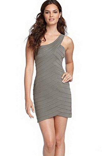 bcbg asymmetrical dress - 2