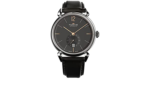 Fortis Terrestis Orchestra P.M. Automatic Stainless Steel Mens Strap Watch Date 900.20.31.L.10: Amazon.es: Relojes