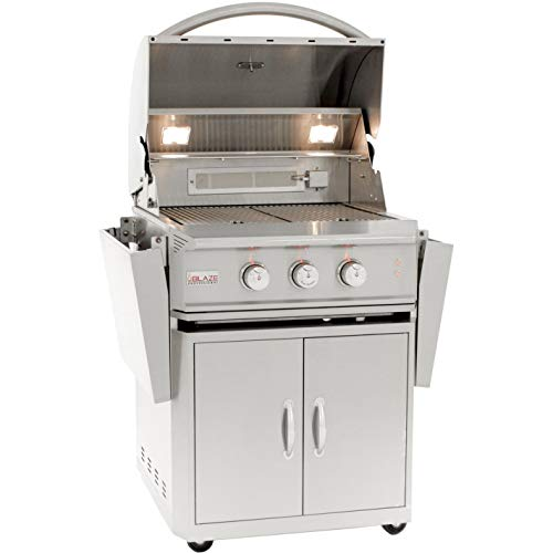 Blaze Professional 27-inch Freestanding Propane Gas Grill With Rear Infrared -