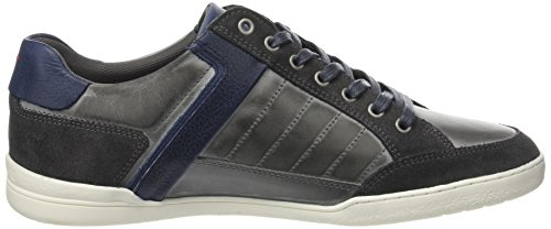 Le Coq Sportif Alsace Low Brushed Lea, Formatori Bassi Uomo Grigio (Dark Shadow/Dress Bl)