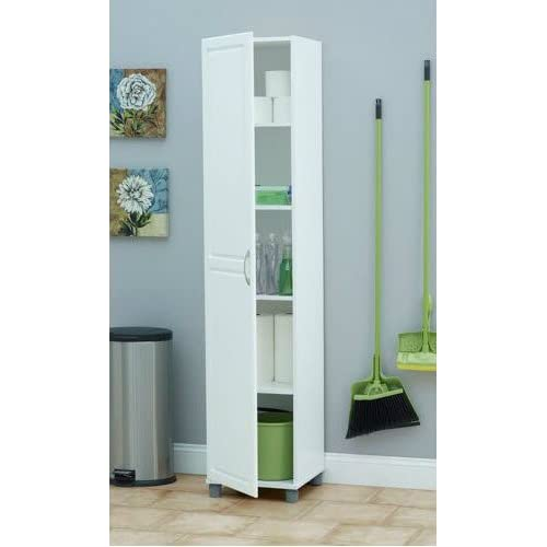 Kitchen Pantry Amazon: Tall Pantry Cabinet With Doors: Amazon.com