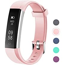 LETSCOM Fitness Tracker, Sports Fitness Tracker Watch with Slim Touch Screen, Wearable Activity Tracker as Step Counter, Sleep Monitor, Pedometer, Calorie Counter Watch for Android and iOS