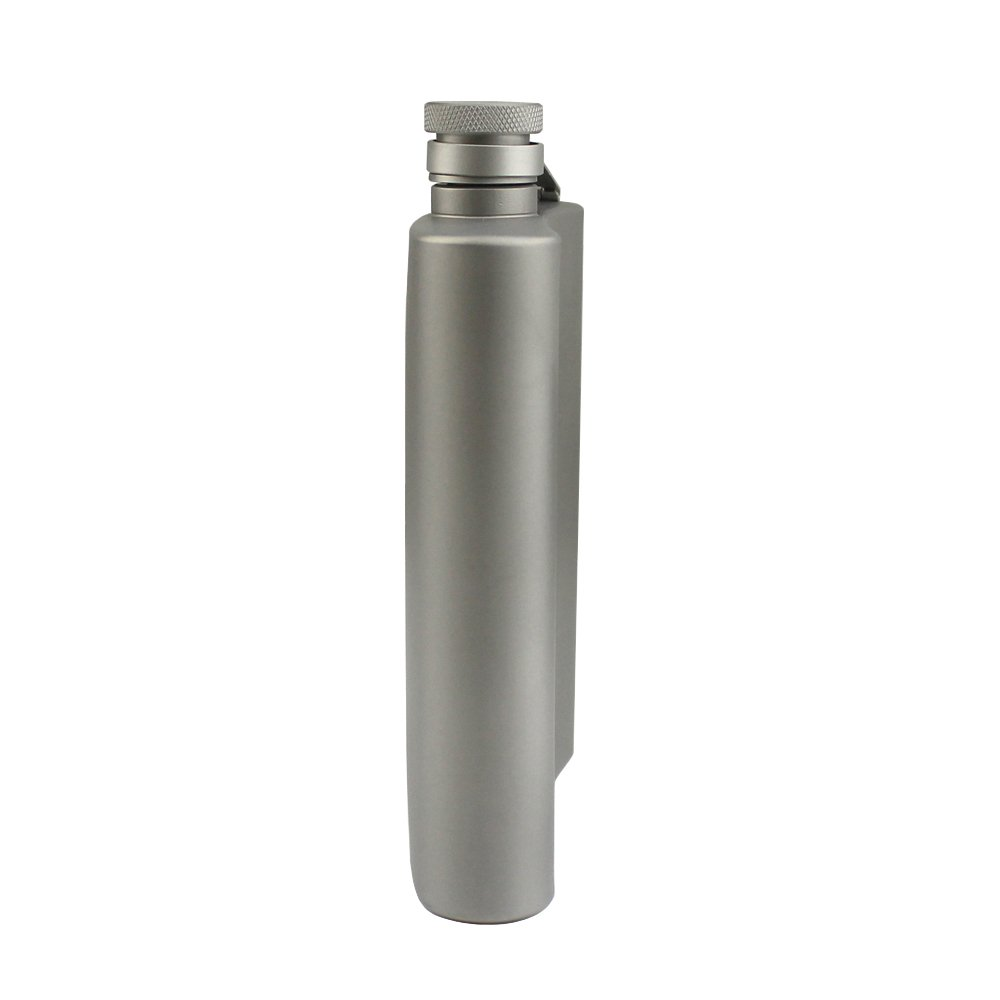 Amazon.com: Termo de titanio de estilo clásico, botella de ...