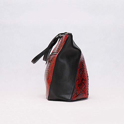 à à Main Sac Femme Red pour Red 8 XRKZ Sac Option Multicolore CM 30 Bandoulière Sac à en Capacité Bandoulière 33 Grande 5zpqfxqwE
