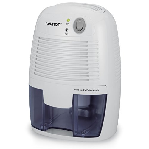 Ivation DehumMini Small Size Thermo Electric Dehumidifier