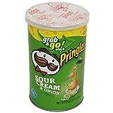 Product Of Pringles, Grab & Go - Sour Cream & Onion Medium, Count 1 - Chips / Grab Varieties & Flavors