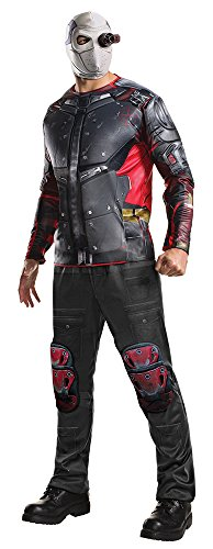 Rubie's Men's Suicide Squad Deluxe Deadshot Costume, As Shown, Standard ()