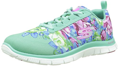nbsp;Wildflowers Femme Appeal Flex Skechers Sneakers Basses qxEHwwUg