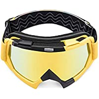 AULLY PARK Motorcycle Goggles, Dirt Bike Goggles Grip For...
