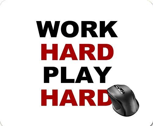 4fa0ee8c10d2 SHAQ Work Hard Play Hard Mouse Pad 8.6 X 7.1 in