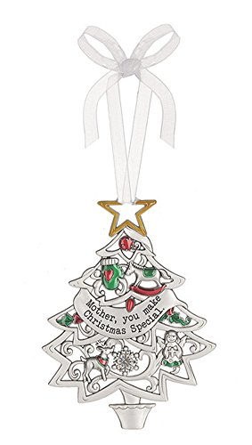 Mother You Make Christmas Special Decorated Christmas Tree Sentiment Ornament