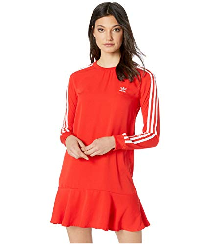 Womens Adidas Dress - adidas Originals Women's Dress Red Large